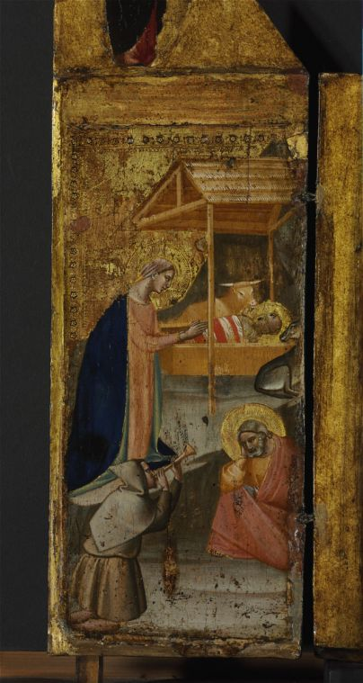 1340 env. Taddeo Gaddi Budapest Fine Arts Museum